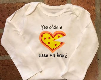 You Stole a Pizza My Heart Onesie