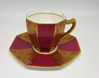 Royal Doulton Coffee Cup and Saucer