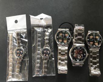 The Beatles Set of 5 Stainless Steel Watches