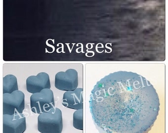 3 sauvage aftershave scented soy wax melts, scented melts, strong wax melts, best wax melts, cheap wax melts