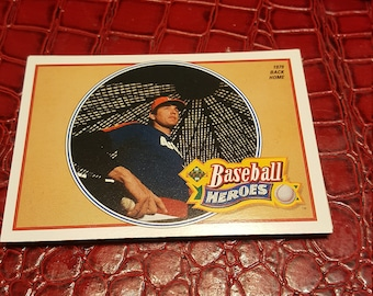 NM 1990 Upper Deck Baseball Heroes Nolan Ryan #13 OF 18.1 Card.combined shipping