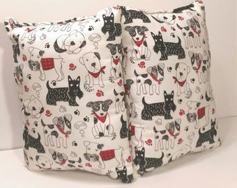 Scribble Dogs Pillow(s)