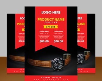 Best marketing template for your business promotion | retail | photography | sale | creative | print ready | easy to edit template  | unique
