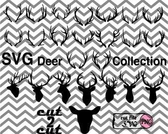 Deer Antler Deer Horn.Deer SVG Collection.SVG