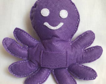 Tooth pillow - octopus