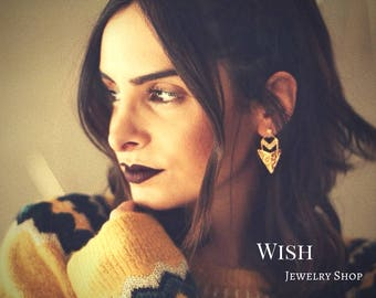 Exclusive Wish Earrings - Portuguese Filigree
