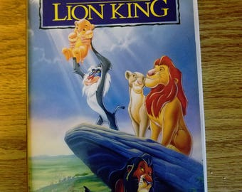 1995 The Lion King - Walt Disney Home Video - Masterpiece Collection VHS #2977 (RARE)