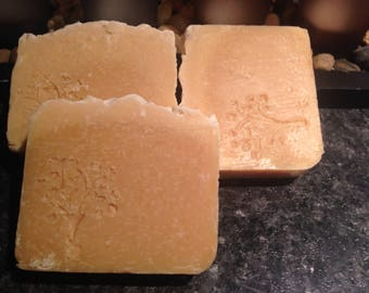 Natural Papaya Handmade Soap Skin Lightening Acne Moisturizing Cleansing Soap