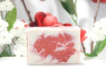 Peppermint, Goat Milk, Soap, Christmas