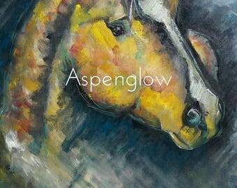 Southwest Horse Portrait Painting