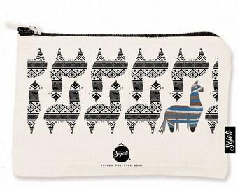 Pocket S Sojoli - llama pattern