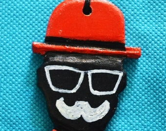 Mr. Geppetto face handmade necklace best seller special edition