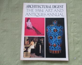 1984 ARCHITECTURAL DIGEST Art and Antiques Annual