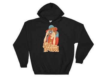 Love travel Hooded Sweatshirt