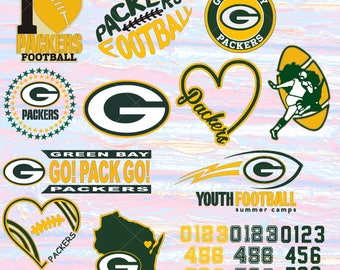 Green Bay Packers svg decal, Alabama svg decal, dxf, cricut, silhouette cutting file, download