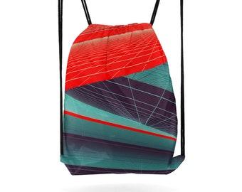 Yoga Bag Gym Bag Drawstring Backpack Sports Bag Cinch Sack Hiking Gear Fitness Bag Cinch Bag Crossbody Bag Shoulder Bag Gift for Friend