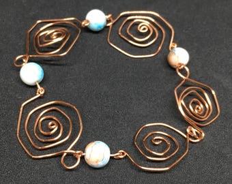 Handmade Swirl Bracelet
