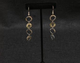 Metal Dangling Earrings