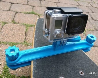 Amazing Go Pro Long Board mount || 3d printed go pro mount || 3d printed accessory