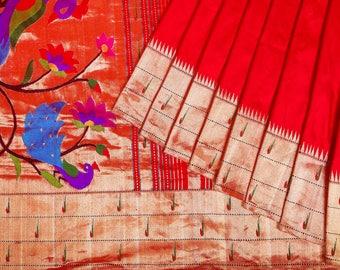 Silk Paithani Saree PAI1SSAR132