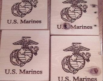 Marine Corps Coasters