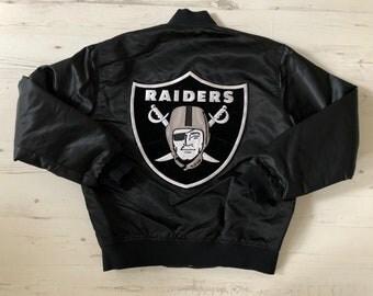 Vintage Raiders Starter jacket. NFL. NWA