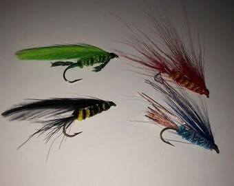 Harry Potter Hogwarts House Colors Fishing Flies