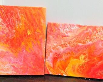 Acrylic Pour Set - 8x10 (2)