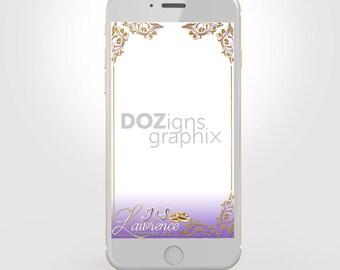 Custom Wedding Custom Snapchat Geofilter