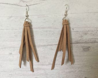 Tassel Suede Earrings