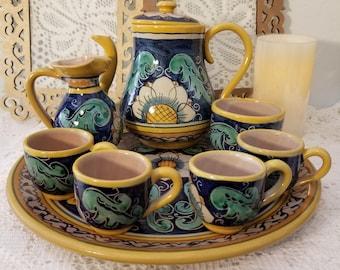Santo Stefano di Camastra tea set