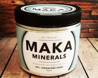 All Natural Bath Salt - Signature Soak - 16 Oz