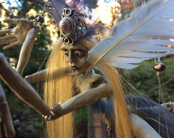 Mourning Dove Marionette