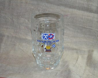 Hacker-Pschorr Beer Glass Beer mug/ Germany