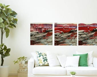 I Love Abstract 2. Set. Digital download. Wall art