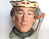 Royal Doulton China Henry V Toby Jug Large Shakespearean Collection Character Jug