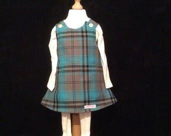 Reversible  tartan dress