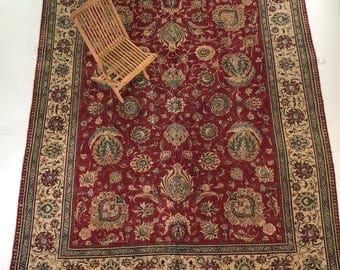 """000155 Tabriz Oriental Persian Rug 9'9""""X12'7"""""""