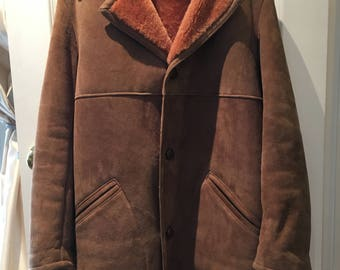 Vintage 1970's Langmore Shearling Coat