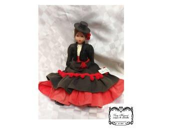 Doll vintage Spanish by Marin chichlana
