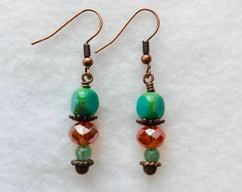 Handmade Gemstone Earrings