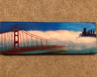Photo into Painting, Custom Landscape Paintings, Landscape Painting, Turn Photo into Painting, Photo into wall art