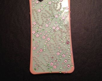 Pink/light green Iphone 6s