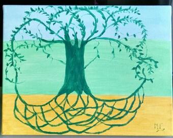 SALE. Arbre de Vie Celtique.  Celtic Tree of Life.
