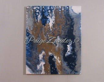 Original abstract acrylic artwork