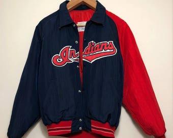 Vintage 1990s Cleveland Indians Starter Jacket