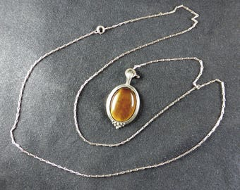 Antique pendant with Tiger eye