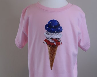 Toddler 2T 3T 4T 5T Ice Cream tshirt