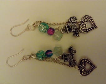 Earrings 'Cinder'