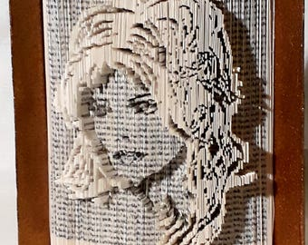 Folded book Mylène Farmer